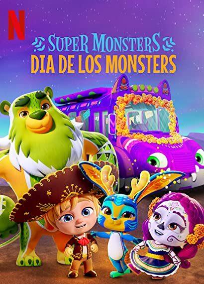 Supermonstruos Dia De Los Monstruos 2020 720p 1080p Latino